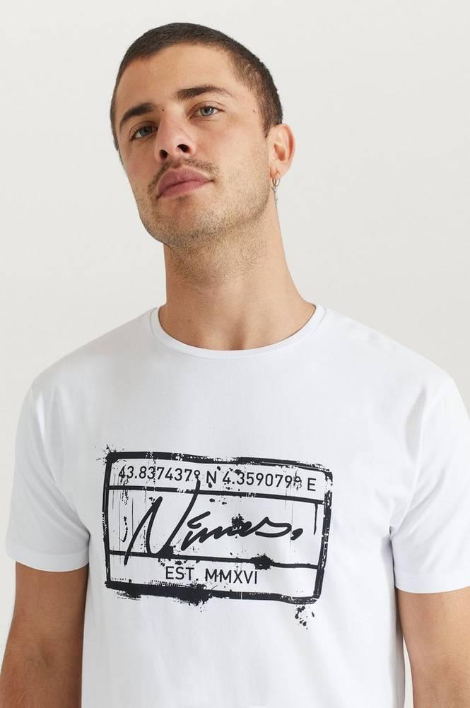 T-paita Stamp Print T-Shirt