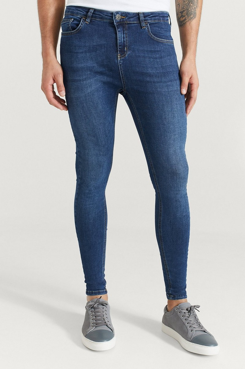 Jeans Non Ripped Spray on Jeans