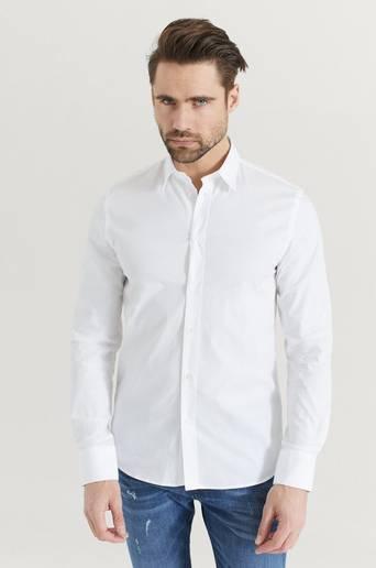 Filippa K Skjorta M. Paul Stretch Shirt Vit