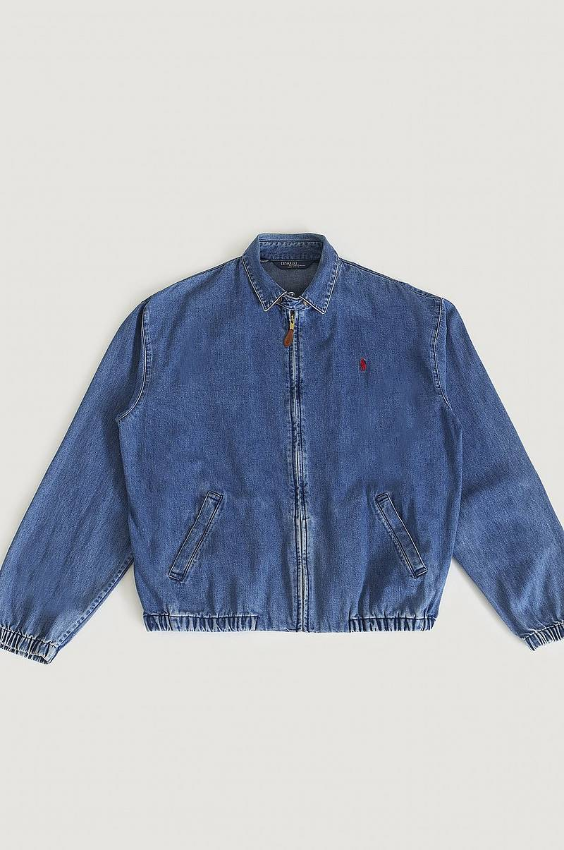 Denim Harrington Jacket