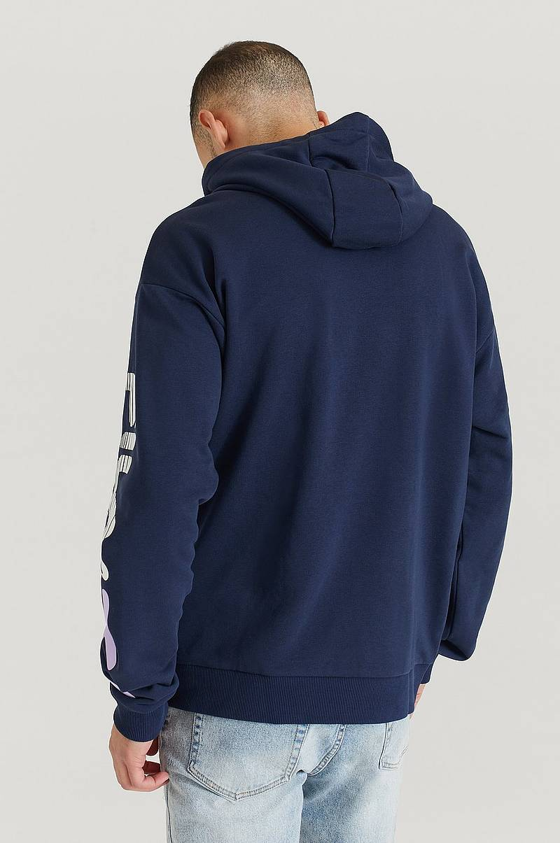 Hoodie Men Malo Dropped Shoulder Hoody