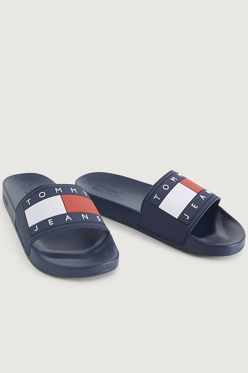 Sandaler Tommy Jeans Flag Pool Slide