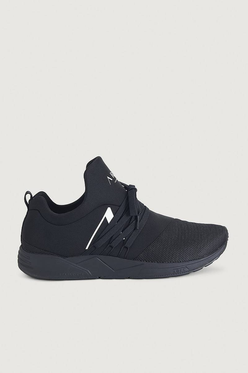 Sneakers Raven Mesh S-E15 All Black White