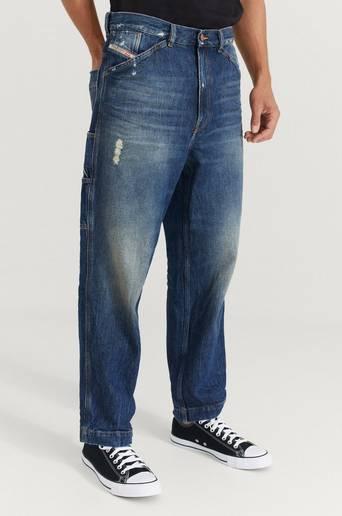 Diesel Jeans D-Franky Trousers Blå