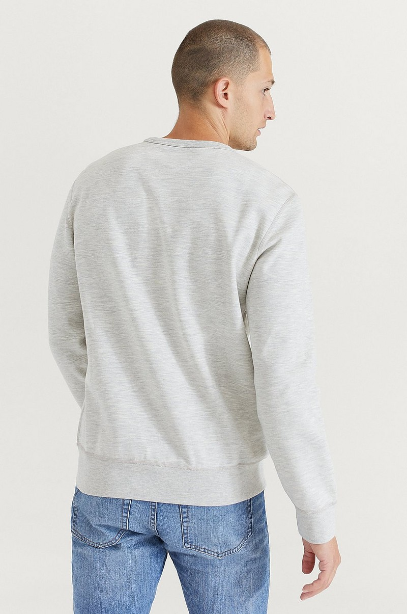 Sweatshirt Double Knit Tech Long Sleeve