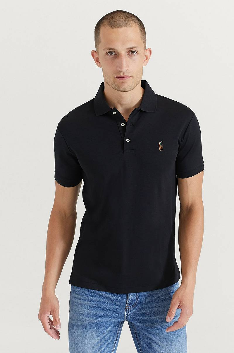 T-paita Pima Polo Short Sleeve Knit