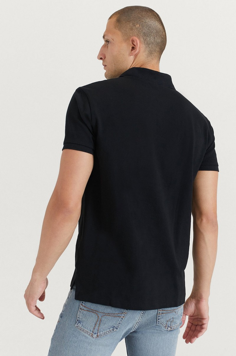 Piké Basic Mesh Short Sleeve Knit
