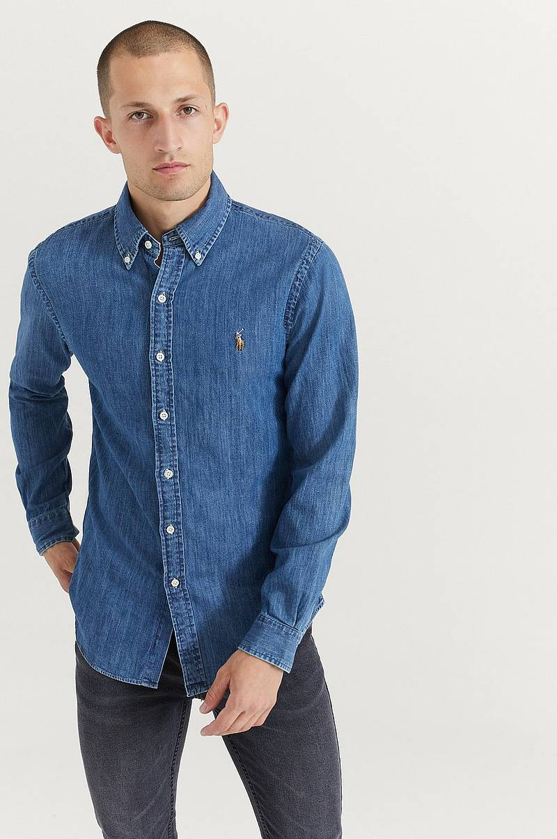 Jeansskjorte Denim Shirt