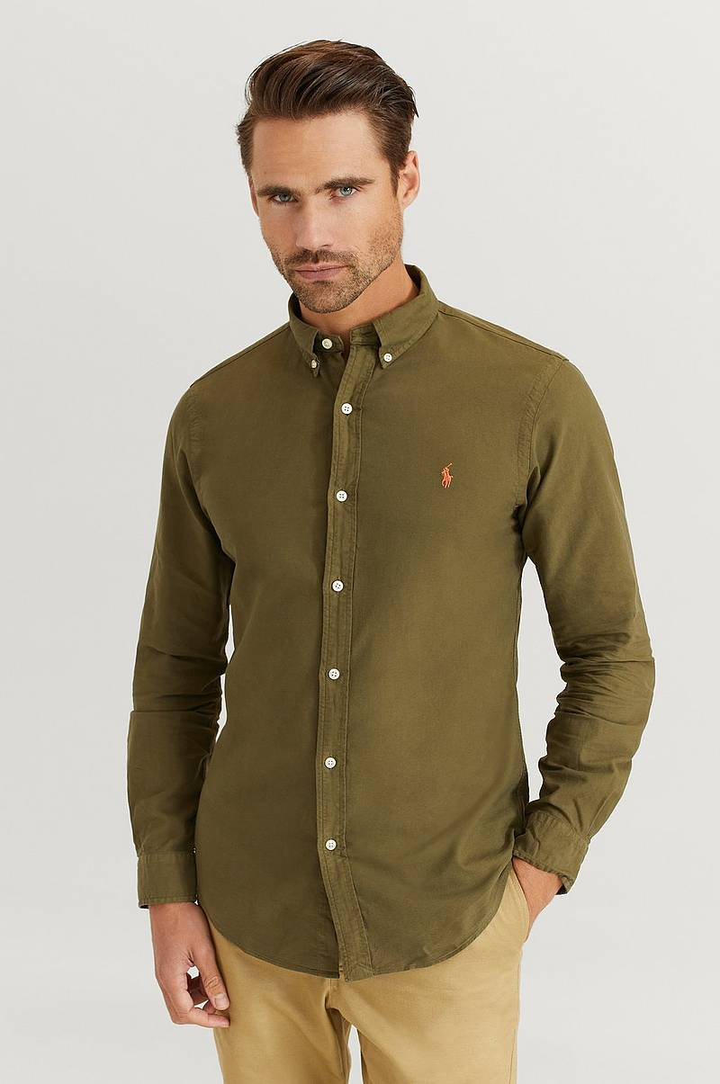 Skjorte Long Sleeve Sport Shirt