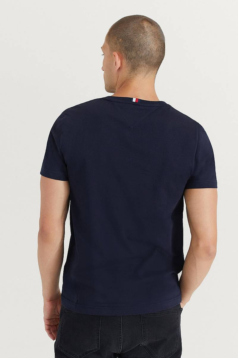 T-Shirt Tommy Flag Hilfiger Tee