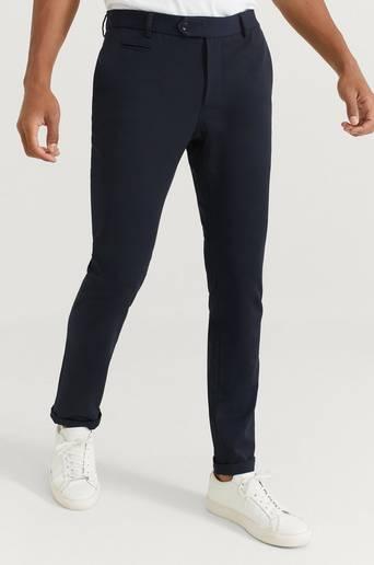 Pour Byxor Soft Trousers Blå