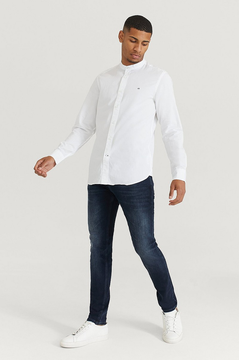 Skjorte Stand Collar Liquid Touch Shirt