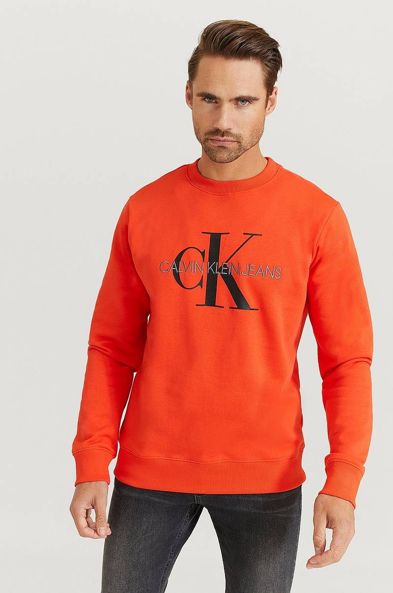 Sweatshirt Monogram Reg Crew Neck