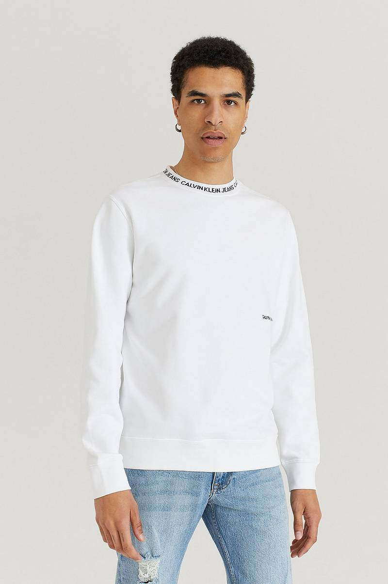 Sweatshirt Institutional Collar Crewneck