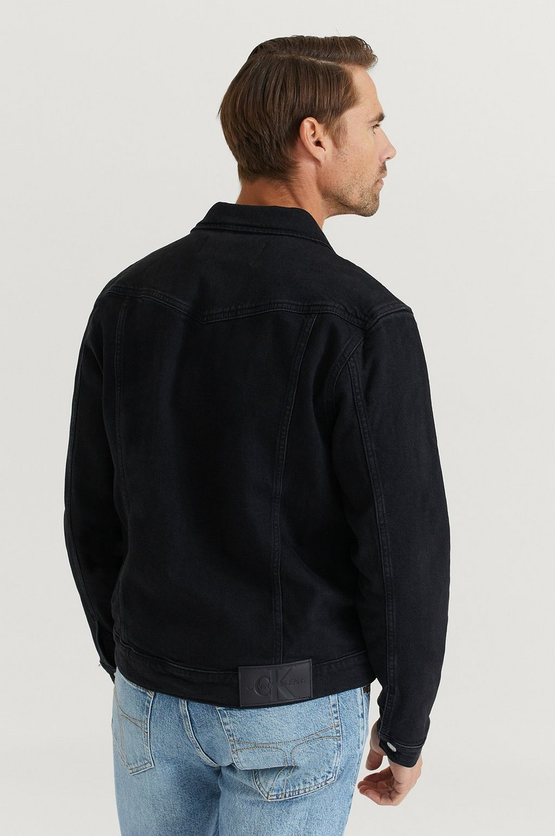 Jeansjakke Foundation Slim Denim Jacket