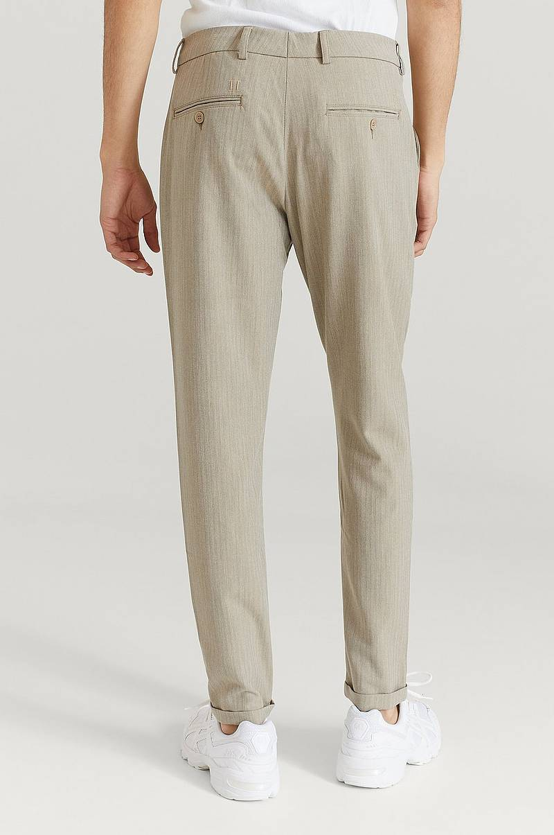 Bukse Como Light Herringbone Suit Pants