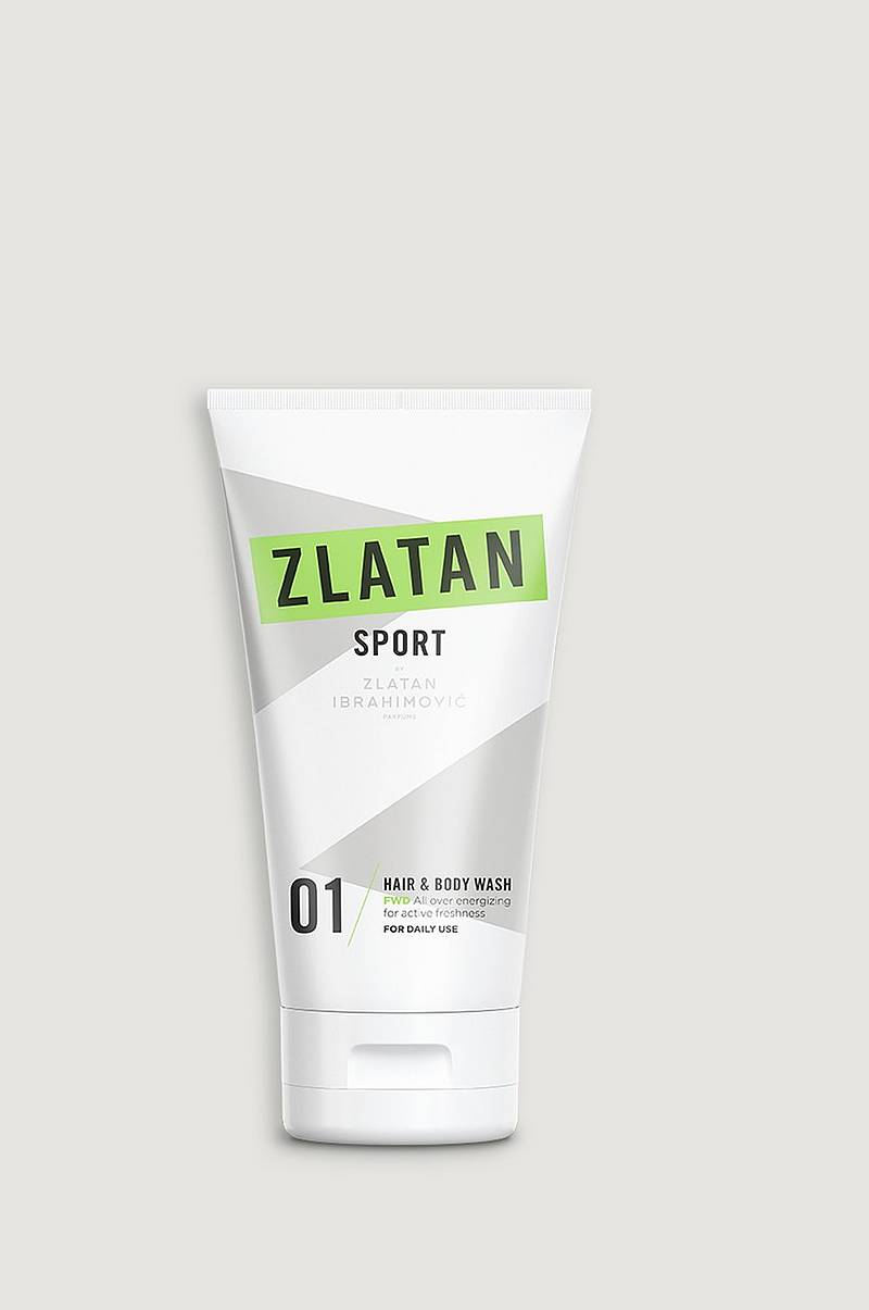 Zlatan Sport FWD Hair&Body wash 150 ml