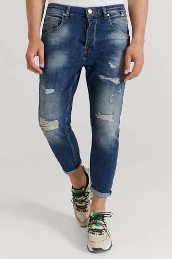 GABBA Jeans Alex K3687 Le Jeans Blå