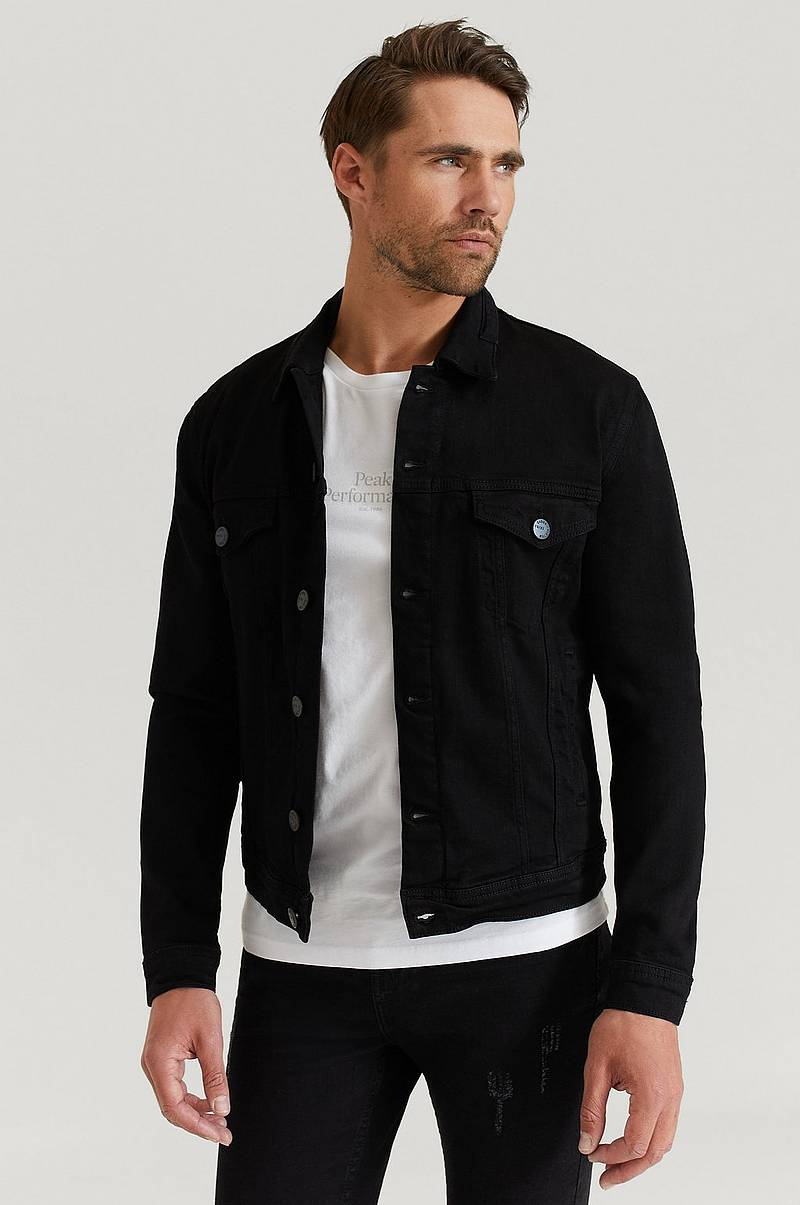 Farkkutakki Dave Black Denim Jacket