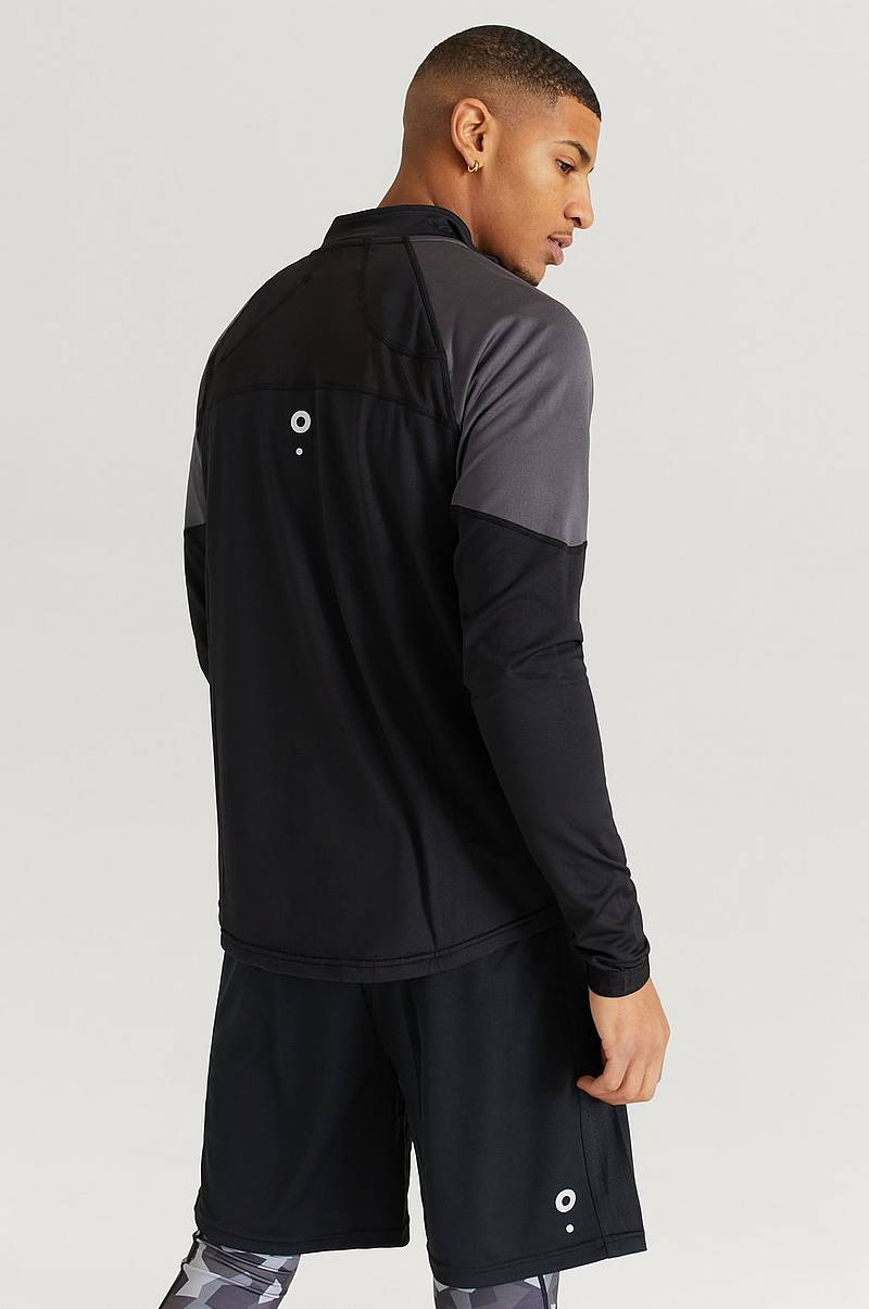 Genser Half Zip Long Sleeve