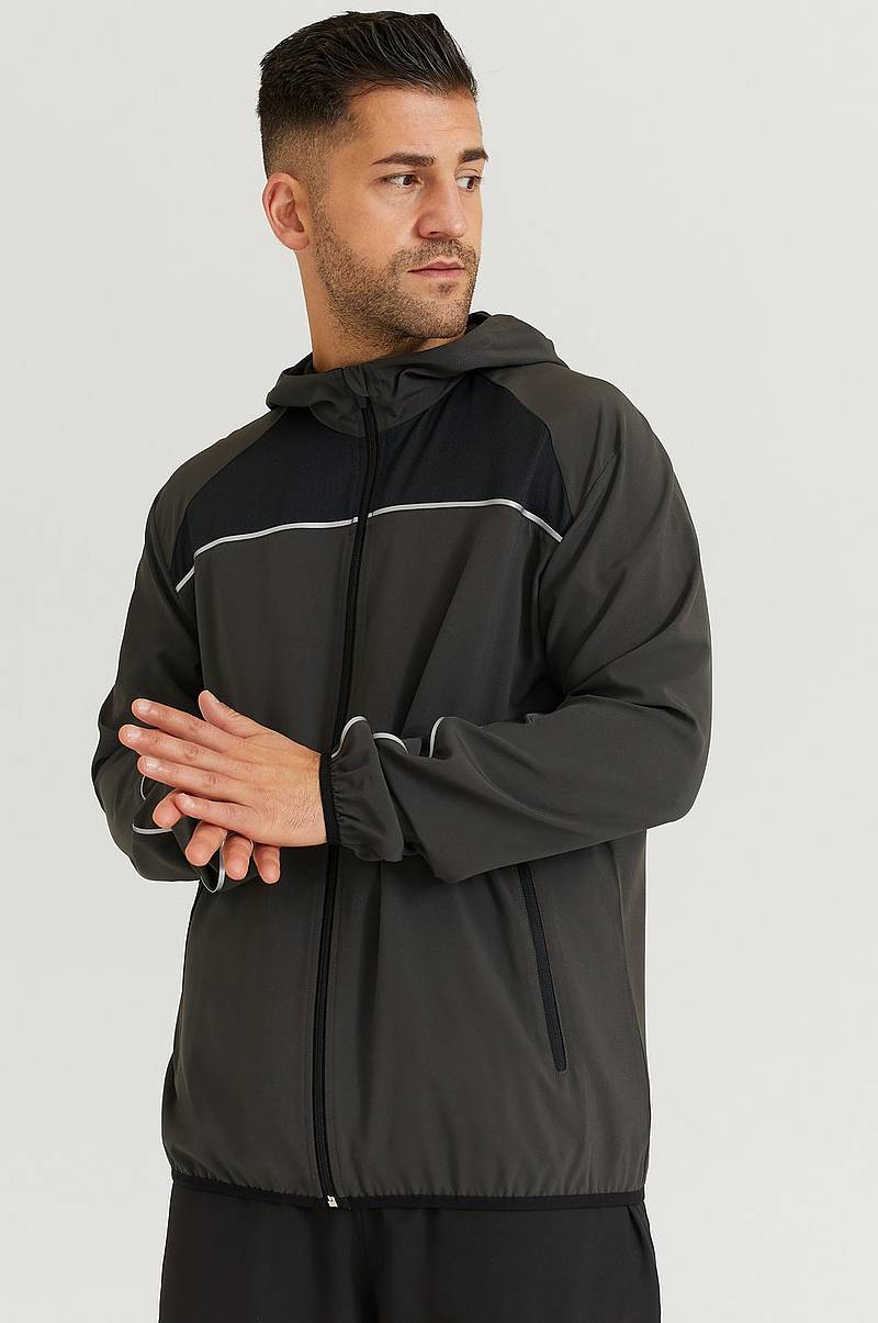 Løpejakke Running Jacket With Hood