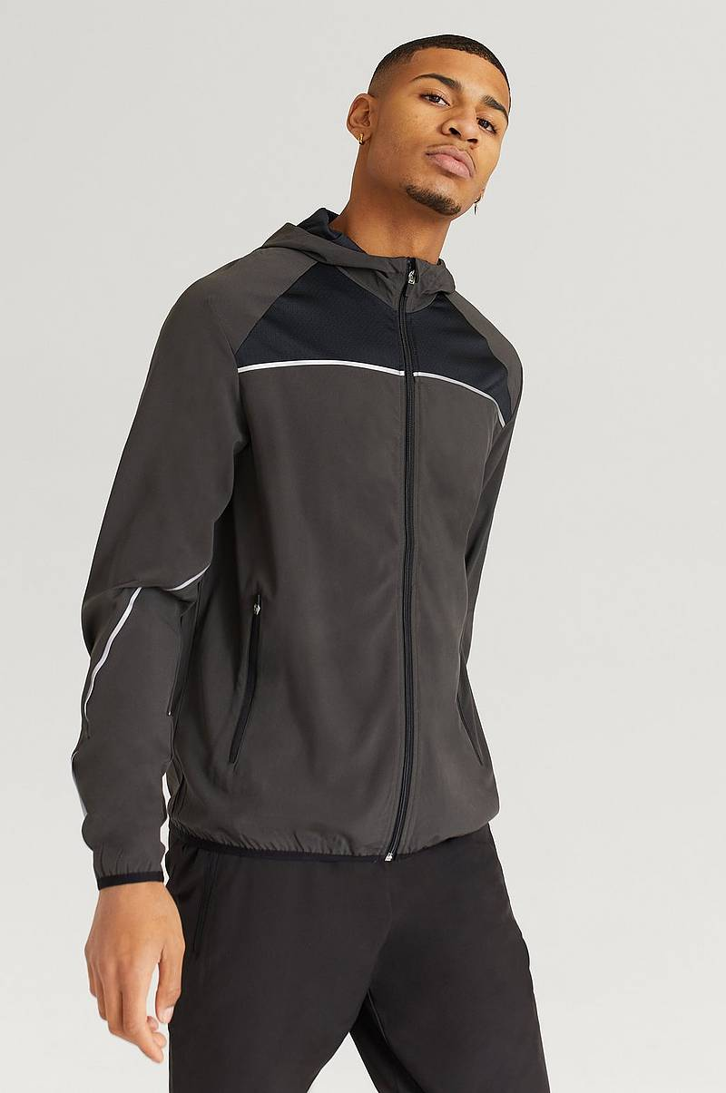 Løbejakke Running Jacket With Hood