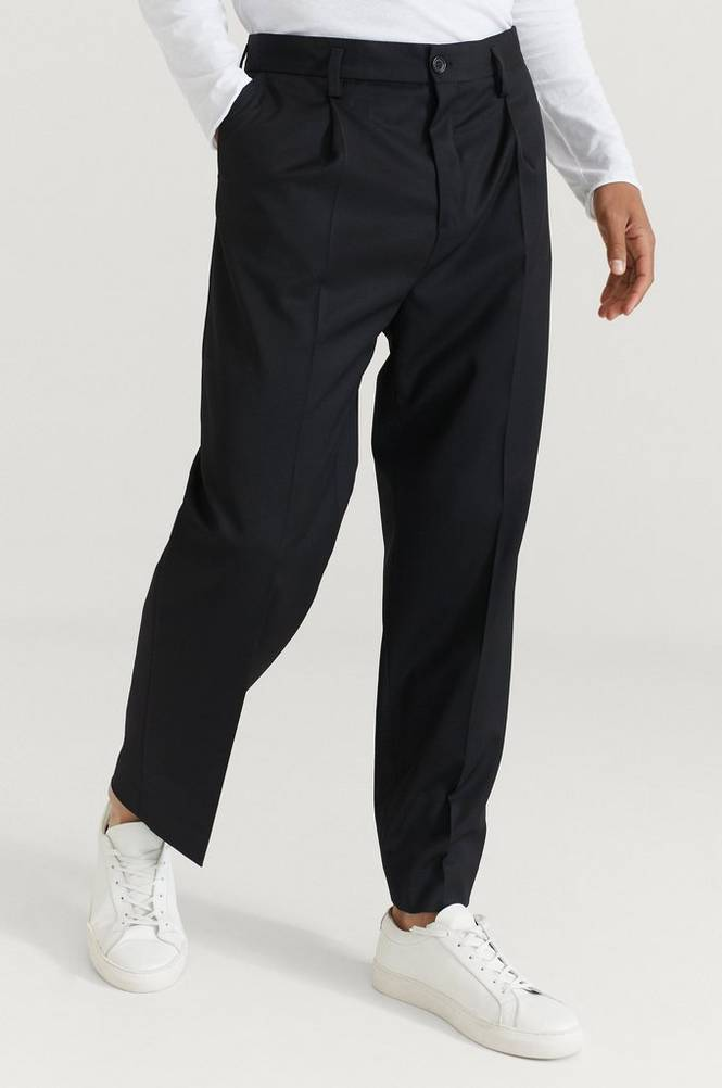 Housut M. Samson Wool Trouser