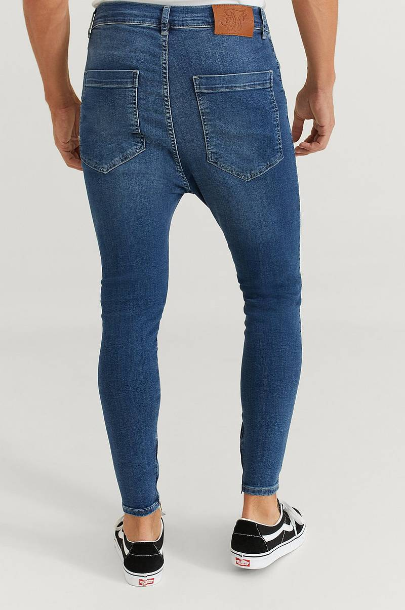 Jeans Drop Crotch Denim