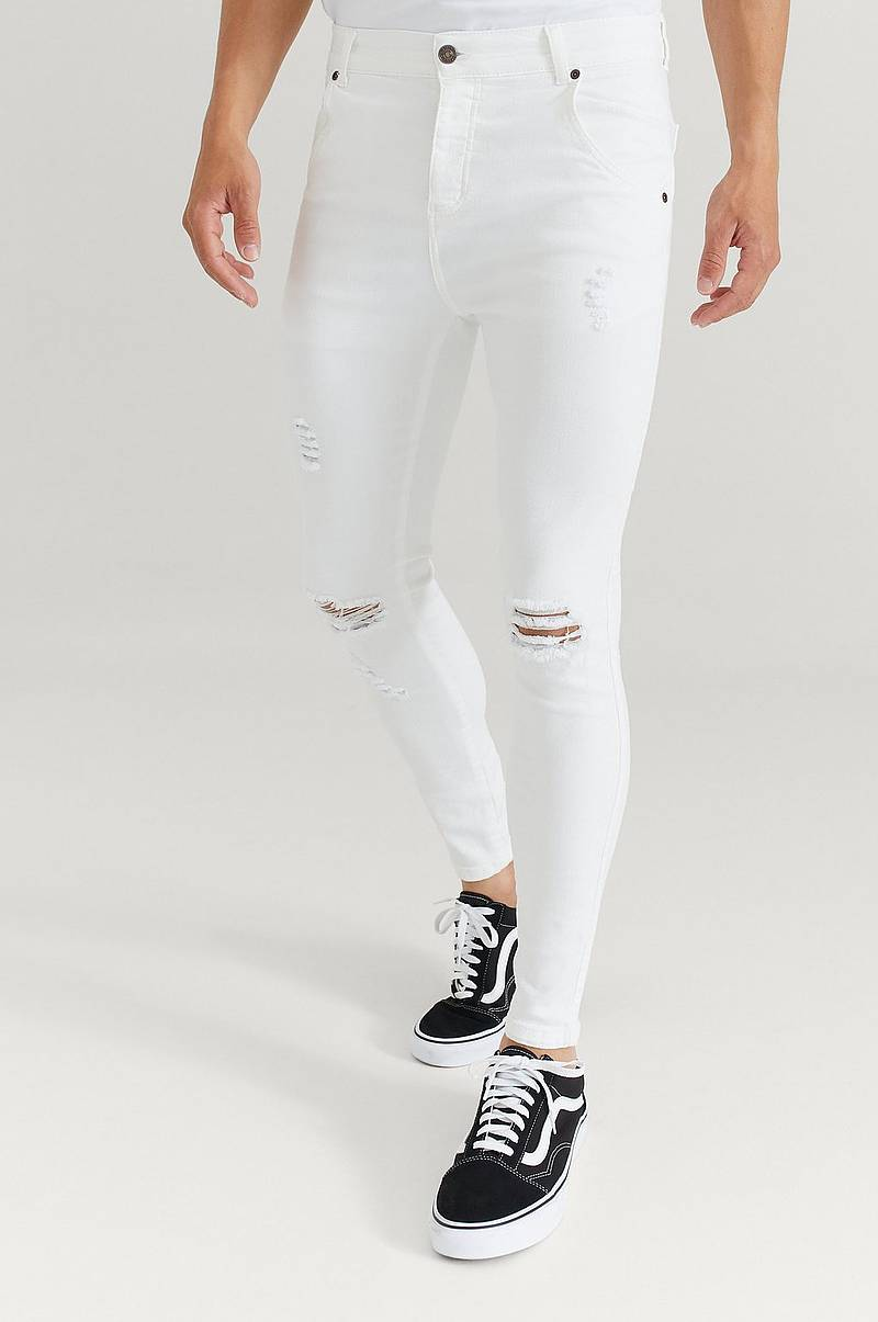 Farkut Skinny Distressed Denim