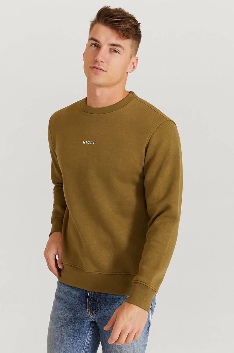 Sweatshirt Nicce Mini Centre Logo Sweat