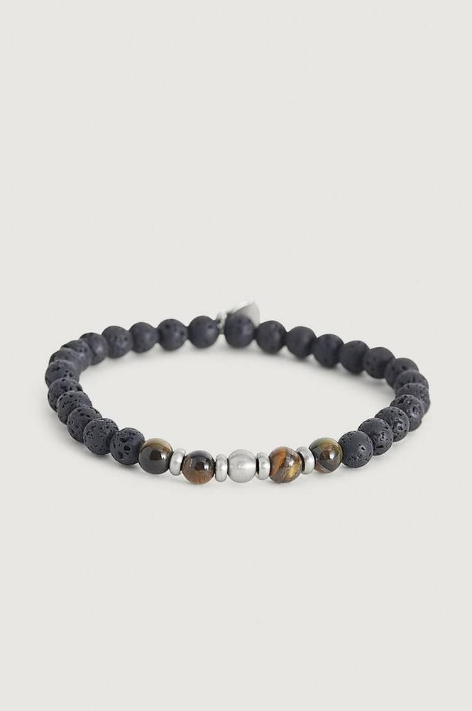 Rannekoru Bracelet Tigers/Lava/Steel
