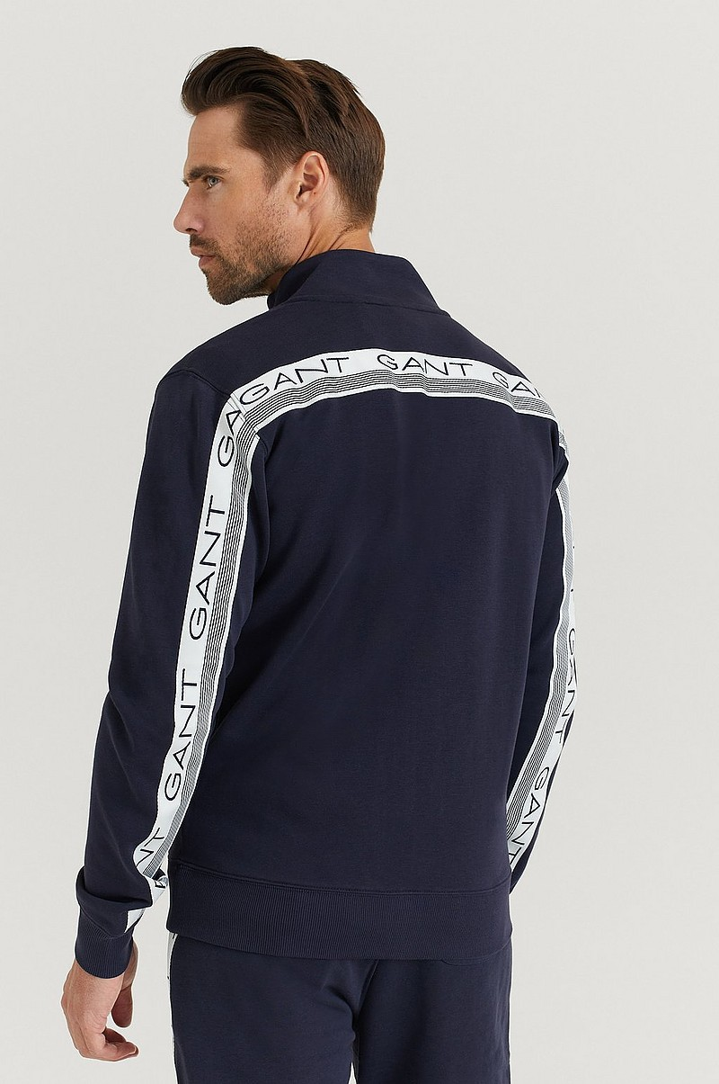 Glidelåsjakke D1. 13 Stripes Full Zip Cardigan