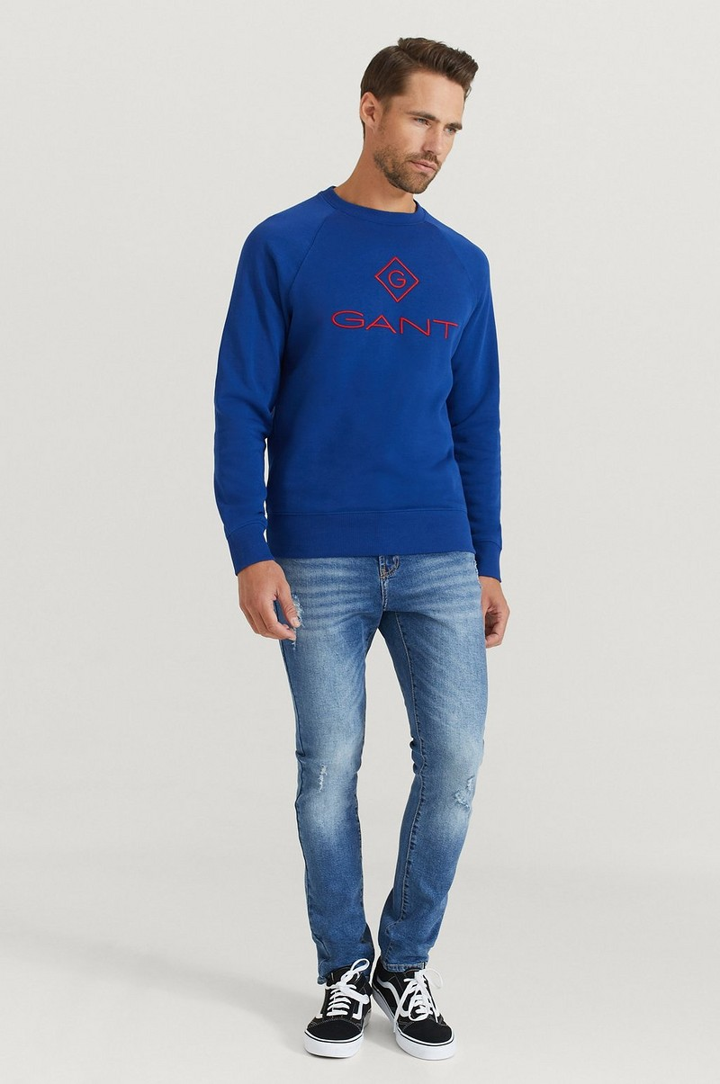 Sweatshirt D1. Color Lock Up C-neck