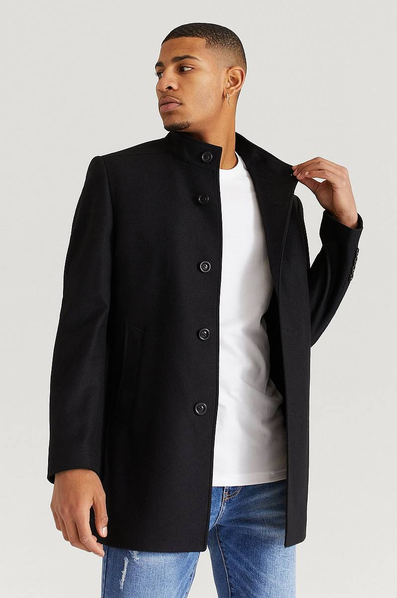 Takki Stand Up Collar Coat