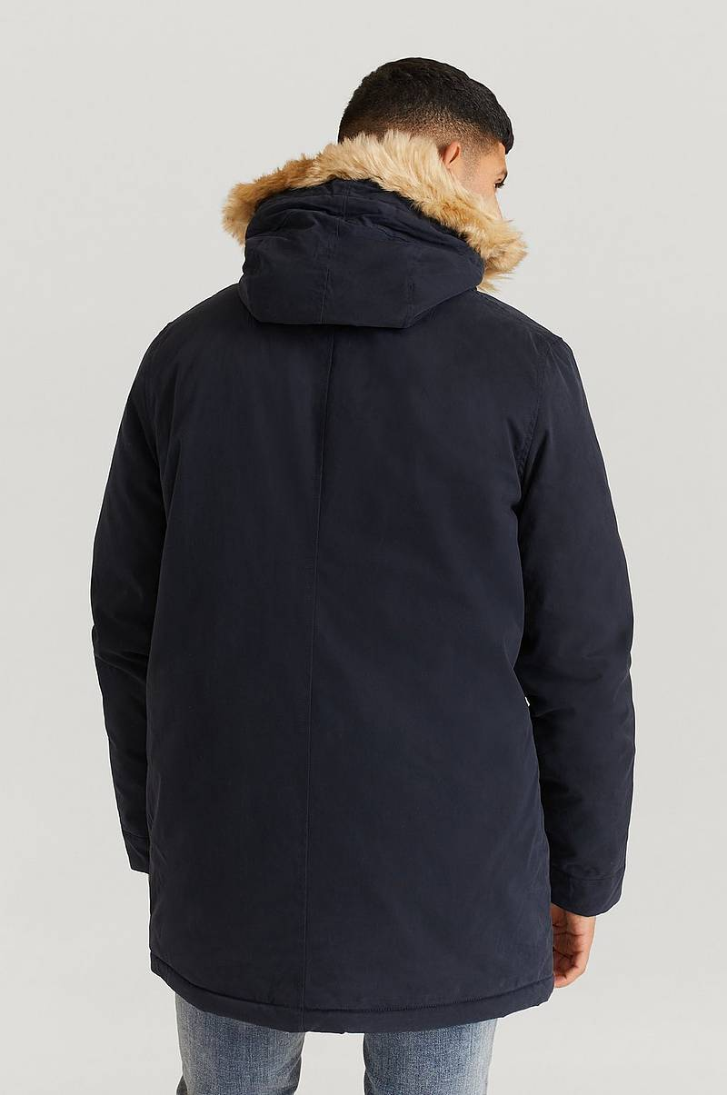 Parkas Winter Weight Microfleece Lined Parka