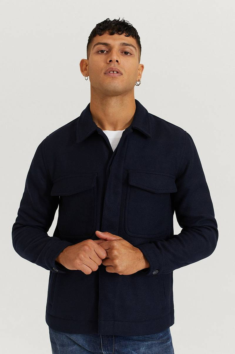 Overshirt Baton Jacket