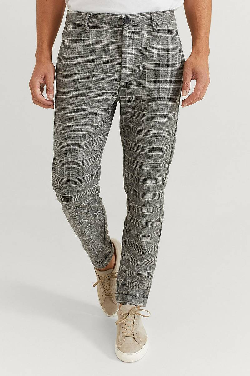 Byxor Rome Soft Check Pant