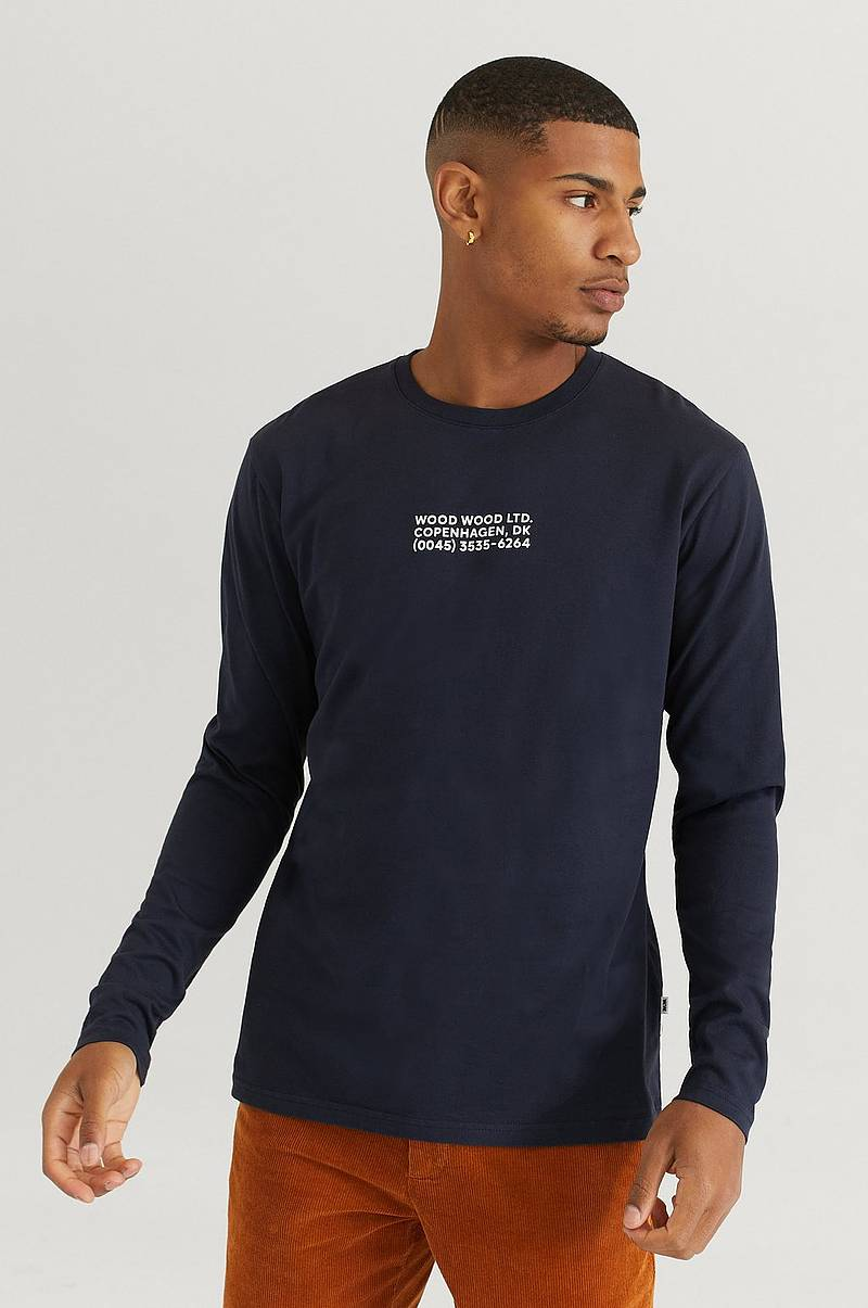 Langærmet T-shirt Peter Long Sleeve