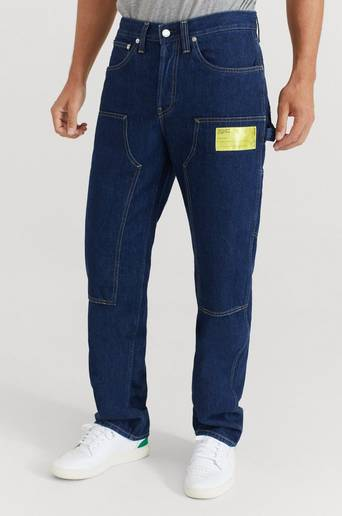 Helmut Lang Jeans Masc Lo Utility Blå