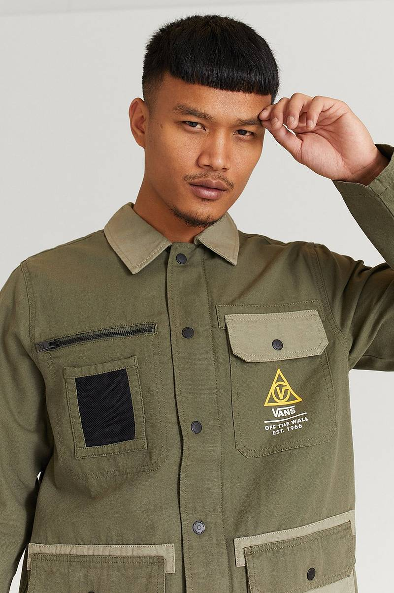 Paitatakki Drill Chore Coat Military