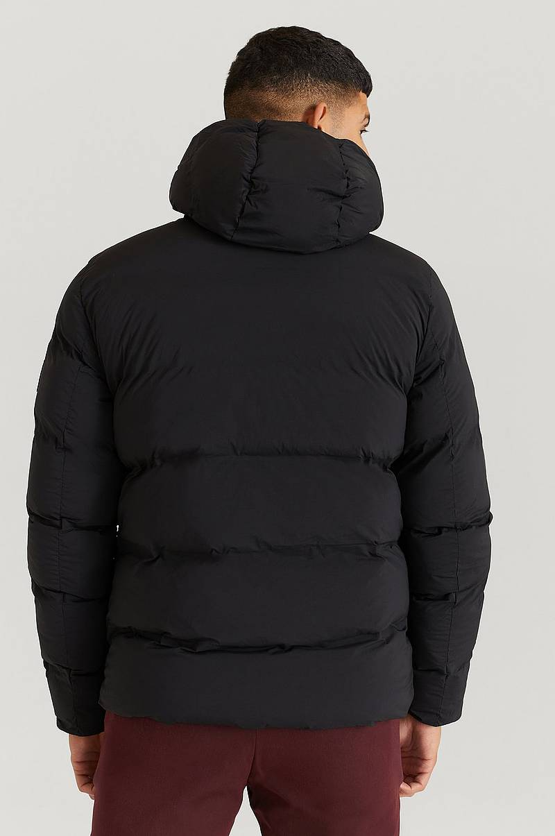 Jakke Hooded Stretch Bomber