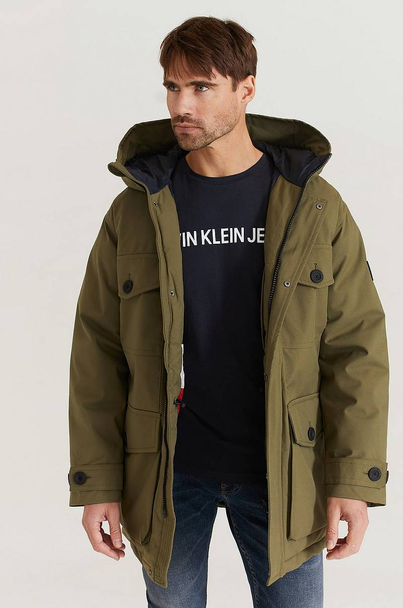 Parkatakki Heavy Canvas Parka