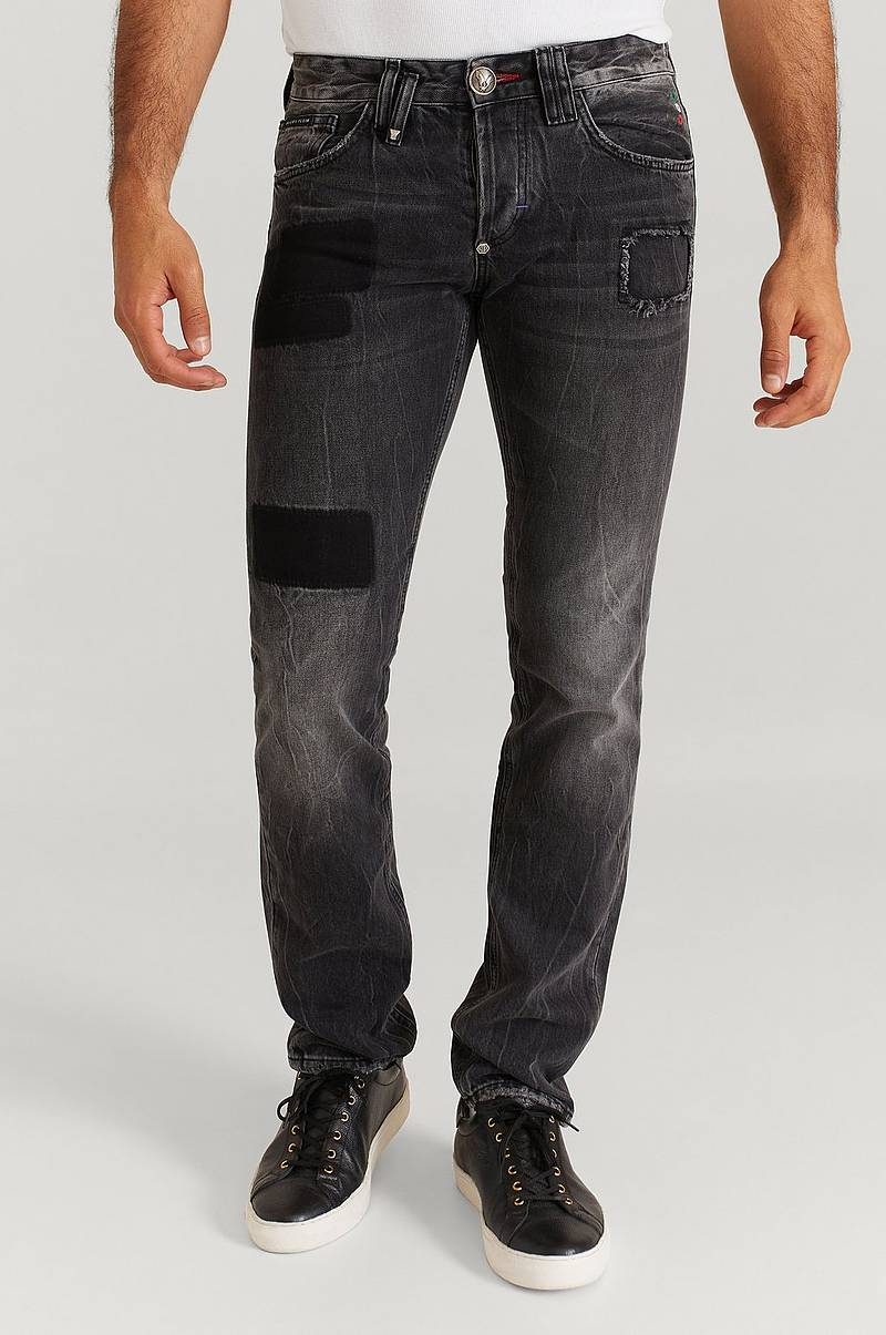 Jeans Straight Cut Hexagon