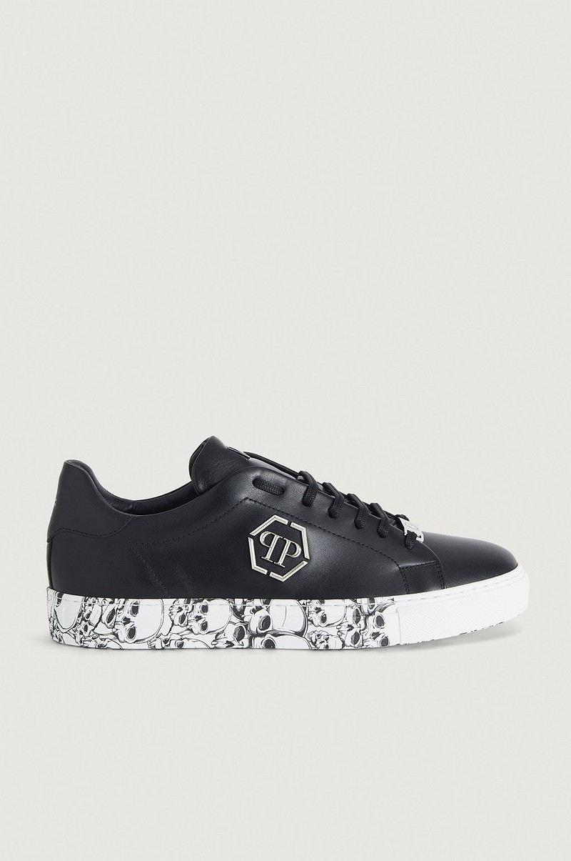 Tennarit Lo-Top Sneakers Hexagon and Skull