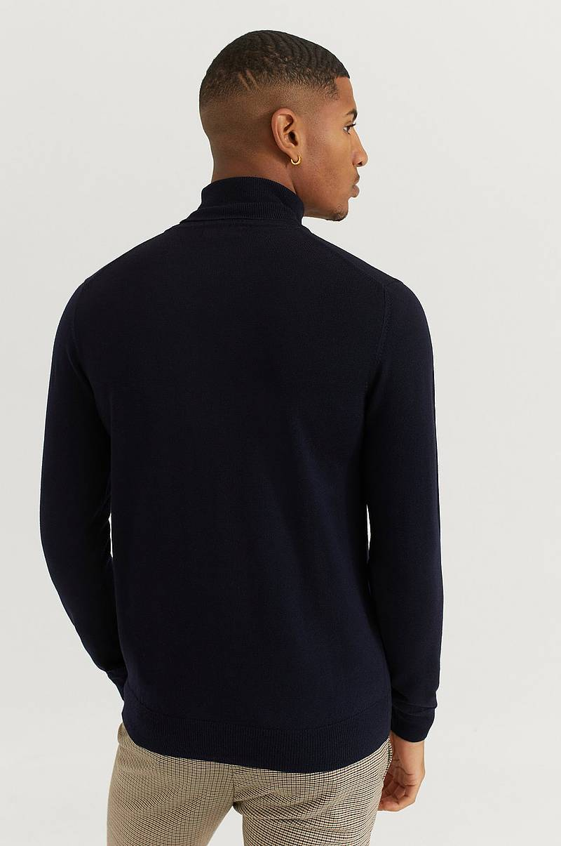 Pologenser Lyd Merino Turtleneck Sweater