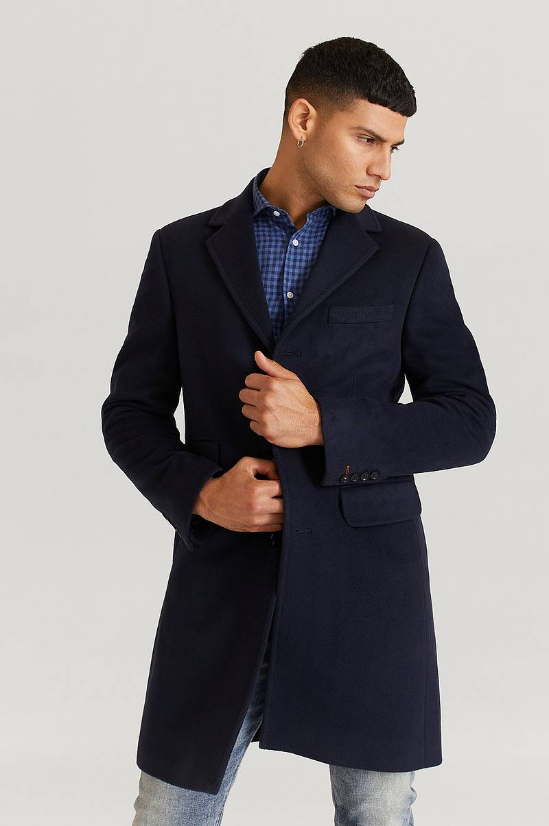 Rock Wesley Wool Cashmere Coat