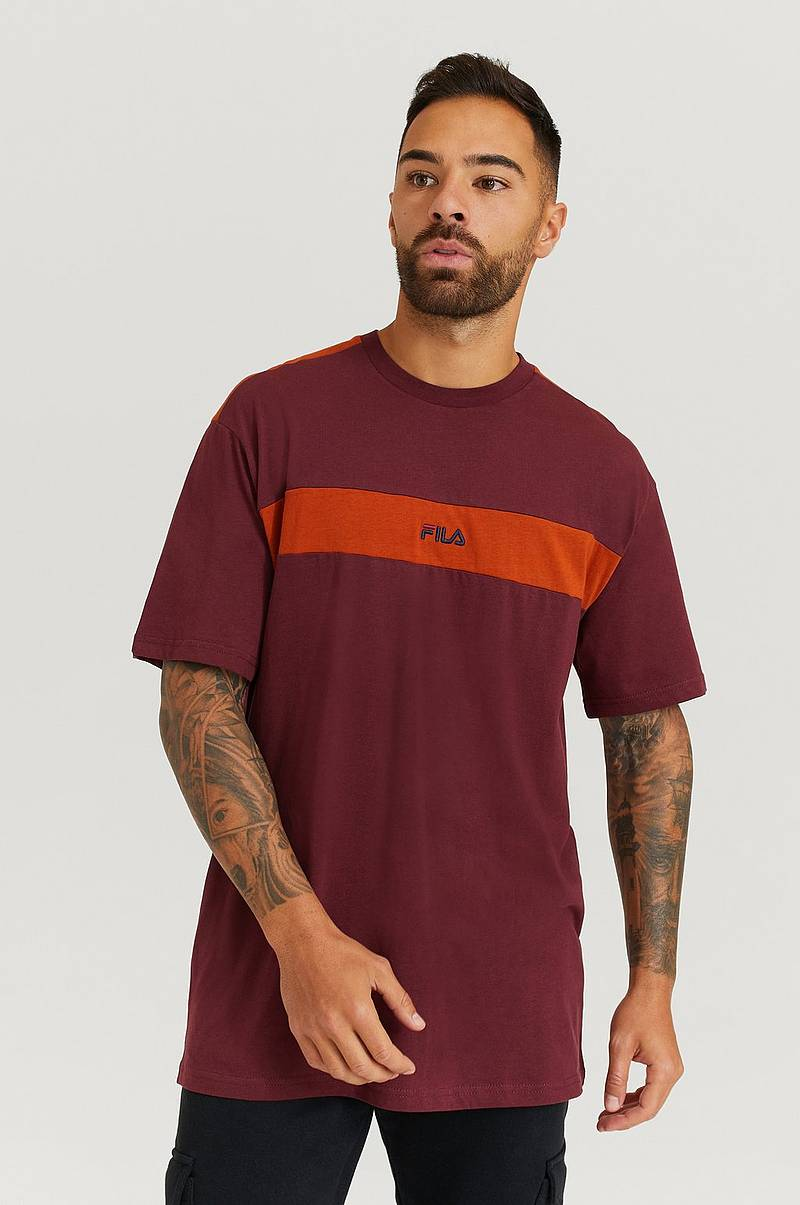 T-Shirt Men Ward Dropped Shoulder Tee
