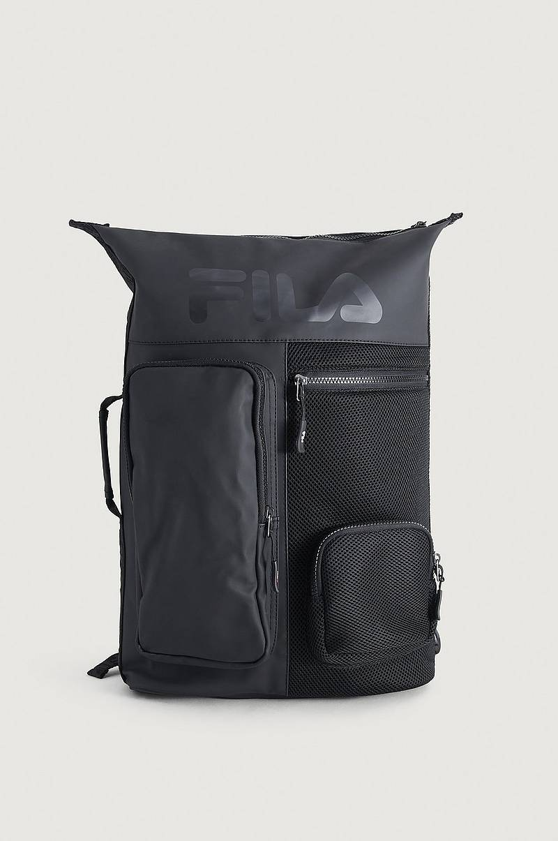 Ryggsekk Backpack Frosted PU-3D Mesh