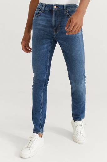 Nudie Jeans Jeans Lean Dean Blue Vibes Blå