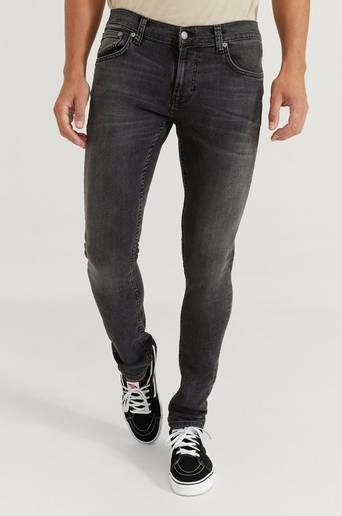 Nudie Jeans Jeans Tight Terry Fade To Grey Grå